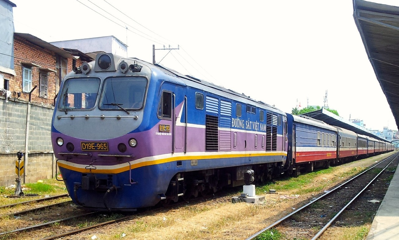 Reunification Express Train Vietnam