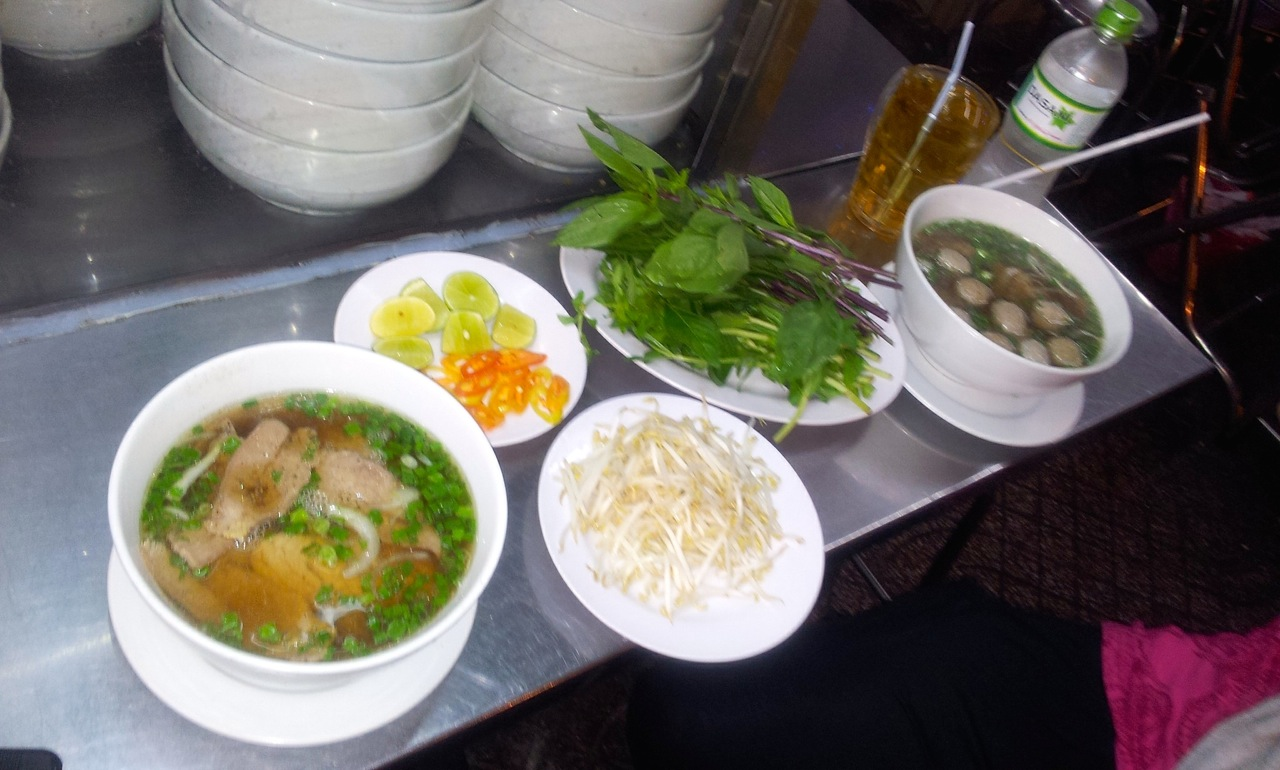 Pho Bo Soup Vietnamese Food