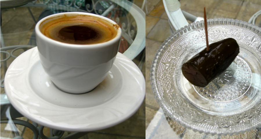 Things to do in Athens for Foodies: Museum of Greek Gastronomy Coffee and Spoon Sweets