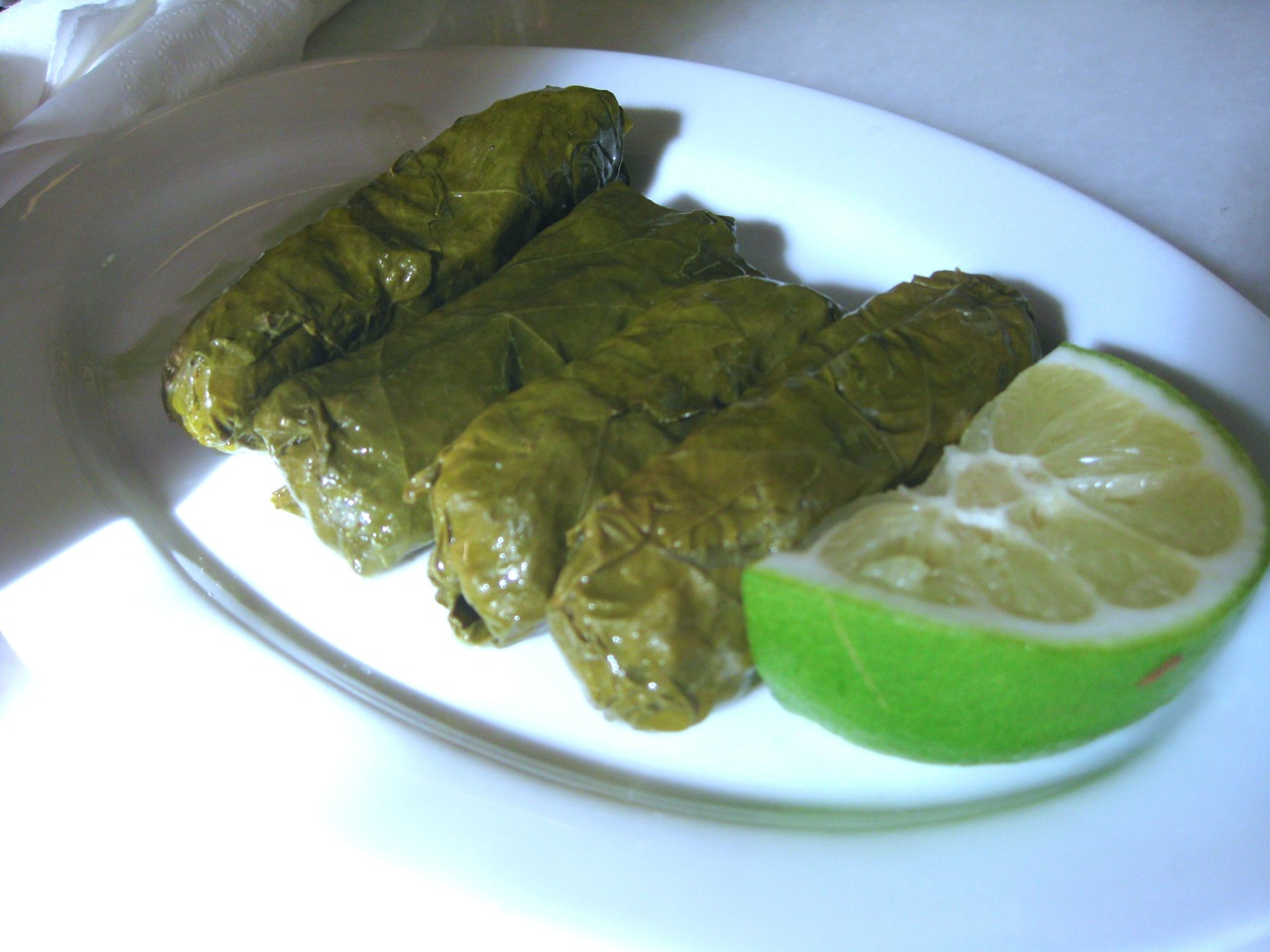 Things to do in Athens for Foodies: Fanis Fromagerie & Charcuterie (Dolma Stuffed Wine Leaves)