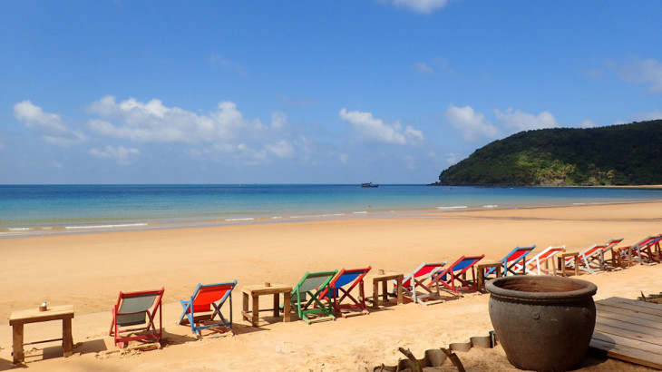 Things to do in Vietnam: Con Dao Dam Trau Beach