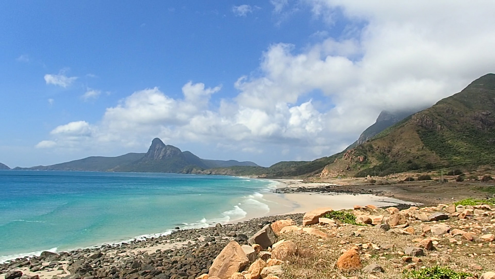 Things to do in Vietnam: Con Dao Nhat Beach