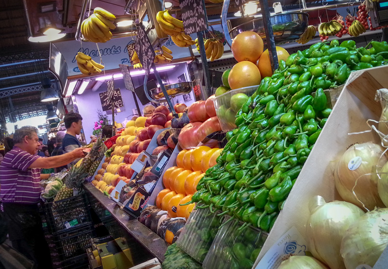 La Boqueria Fruits