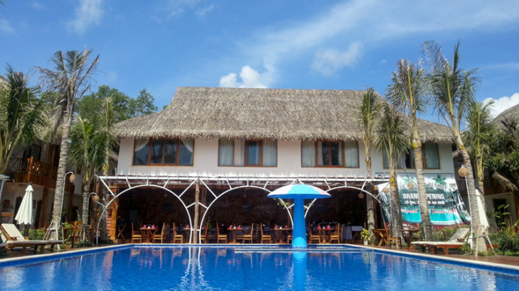 Phu Quoc Dragon Hotel Pool und Restaurant