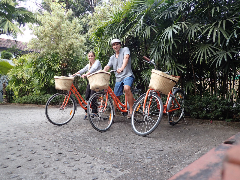 Belmond La Residence Phu Vao Bicycles