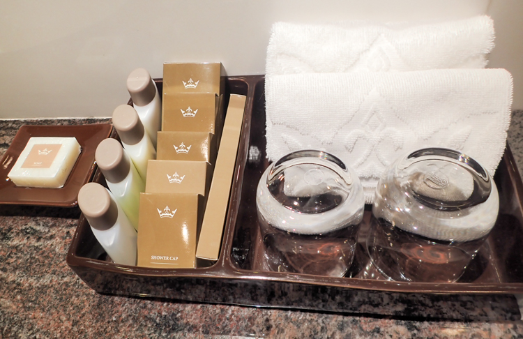 Majestic Bangkok Bathroom Amenities
