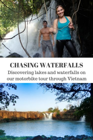 Whoever said don't go chasing waterfalls? We went on a motorbike tour through Vietnam and found amazing lakes and waterfalls. Click to see 20+ photos!