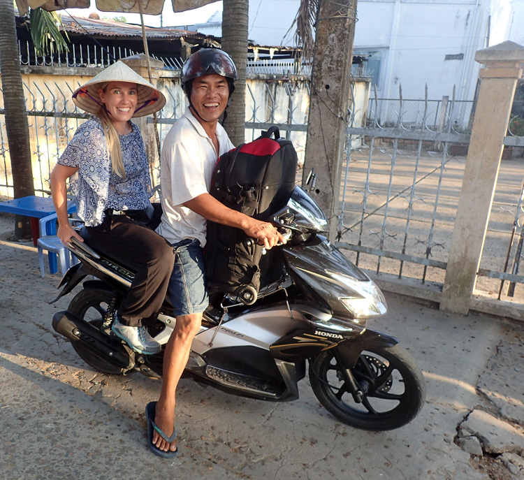 Getting to Ngoc Phuong Homestay