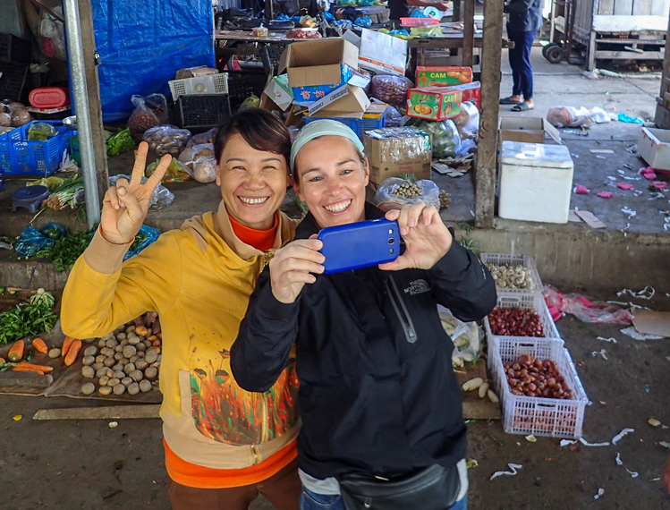 Taking a Market Selfie