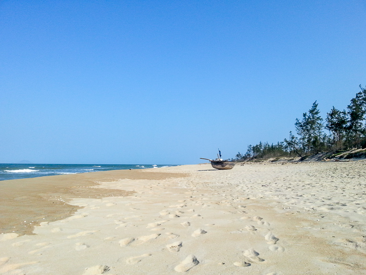 An Bang Beach near Hoi An
