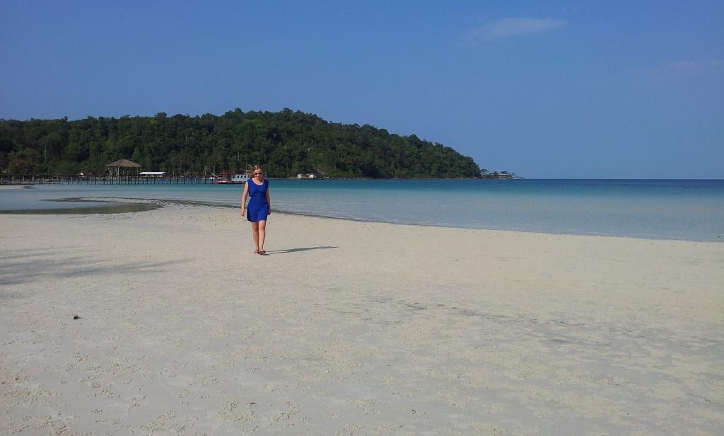 Koh Rong Samloem: Ein Paradies mit endlosen weißen Sandstränden