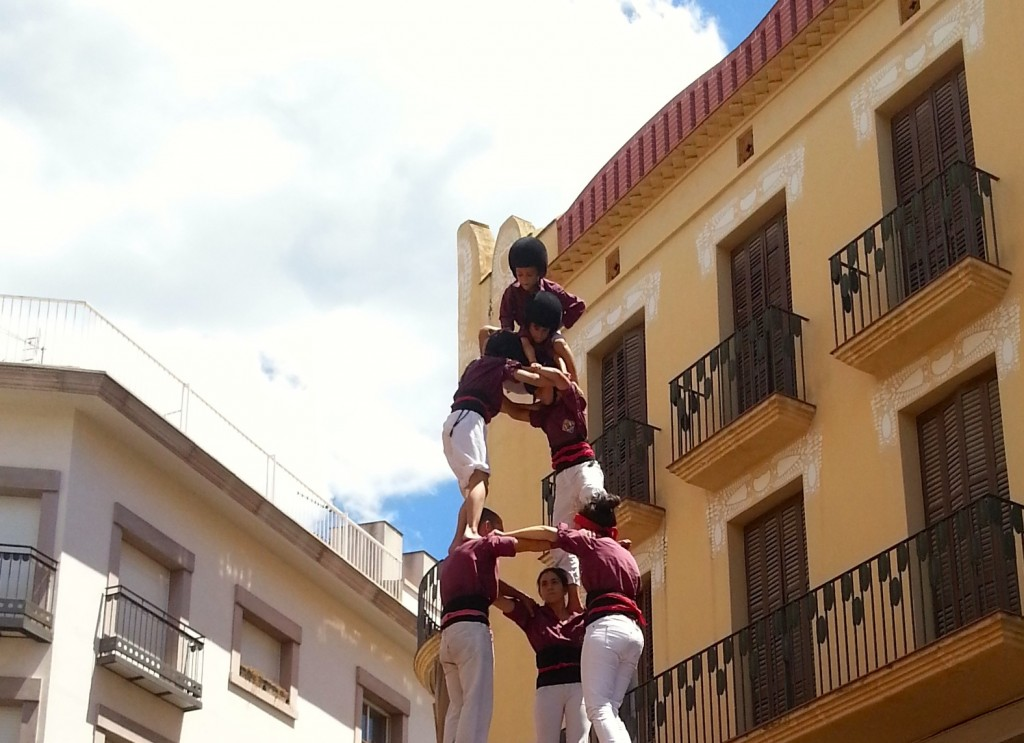 Castellers: Top of the Castell