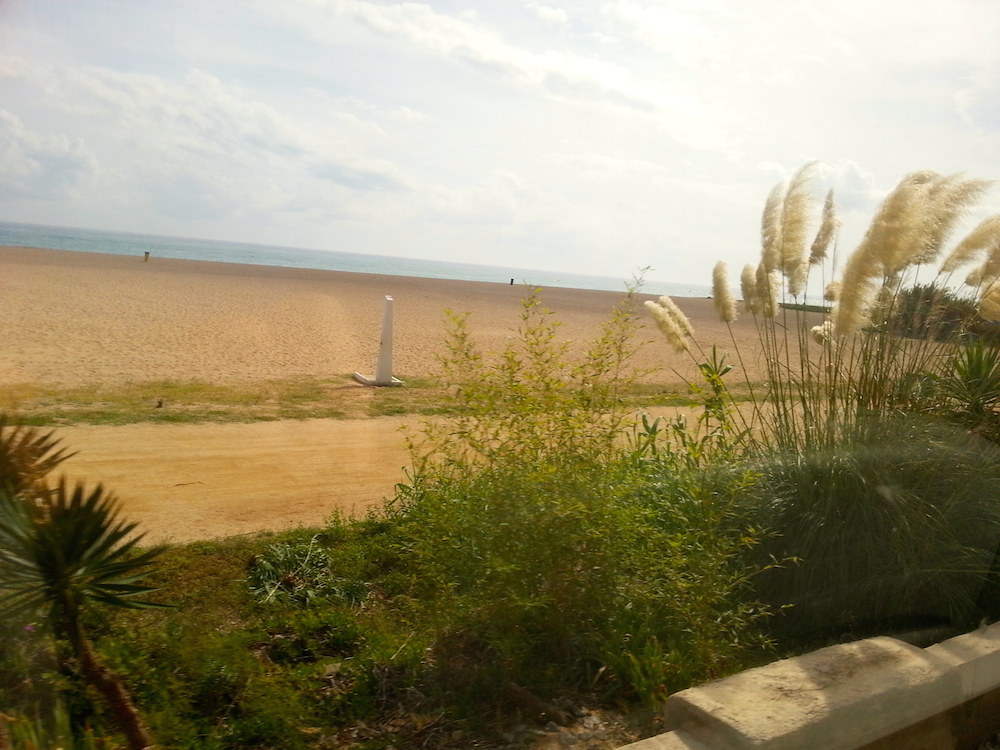 Costa Maresme Renfe Train Journey Barcelona