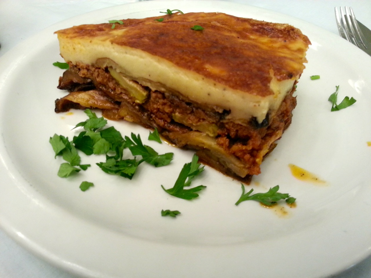 Things to do in Athens for Foodies: Moussaka