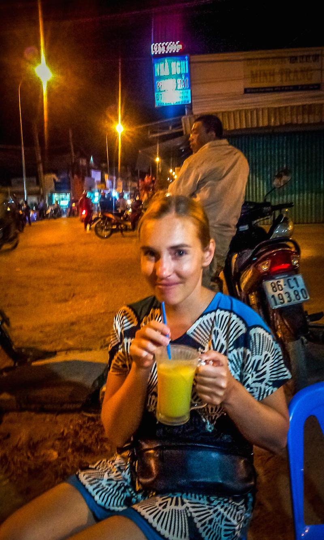 Mui Ne Vietnam Mango Smoothie