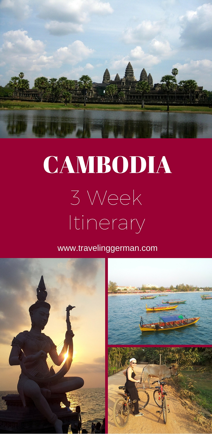 Pin this! Cambodia 3 Week Itinerary Graphic