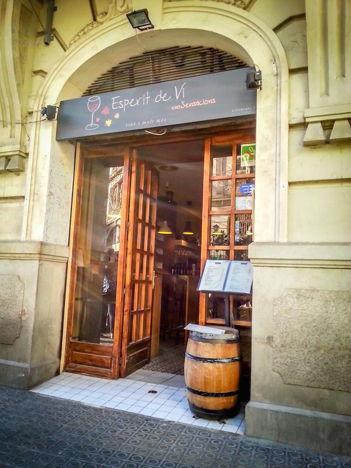 Espirit de Vi Bar Poblenou Barcelona