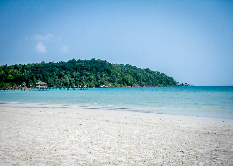 Koh Rong Samloem Saracen Bay, Kambodscha's schönste Insel