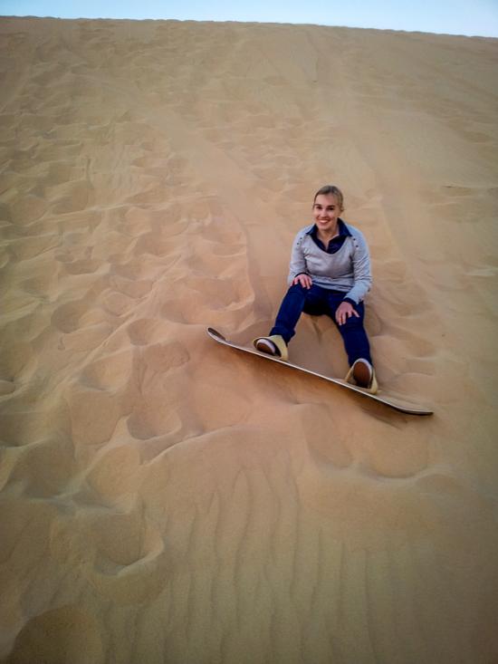 Abu Dhabi Sand Boarding