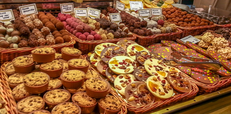 La Boqueria Cookies and Chocolates