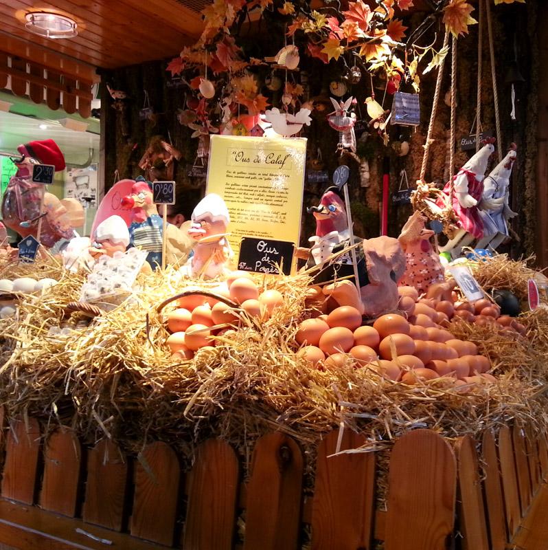 La Boqueria Eggs