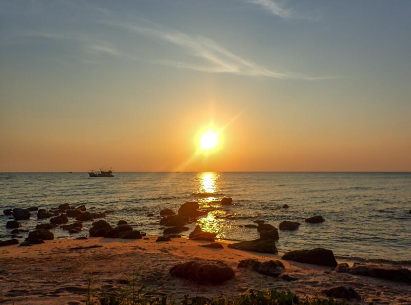 Ong Lang Beach Phu Quoc Sonnenuntergang