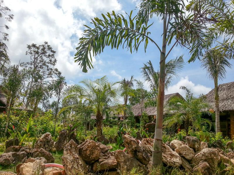 Der Garten des Phu Quoc Dragon Hotel
