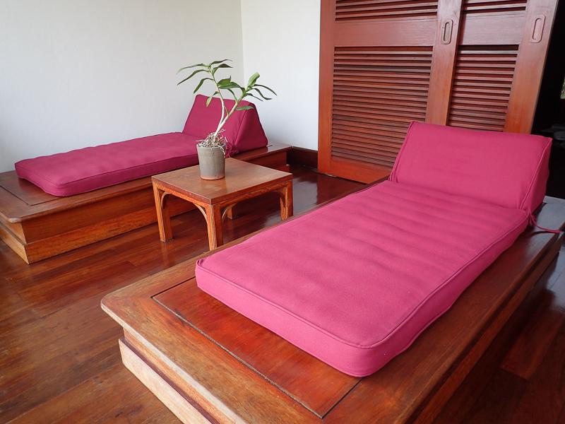 Belmond La Residence Phu Vao Balcony Loungers