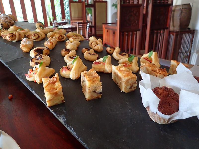 Belmond La Residence Phu Vao Breakfast Pastries