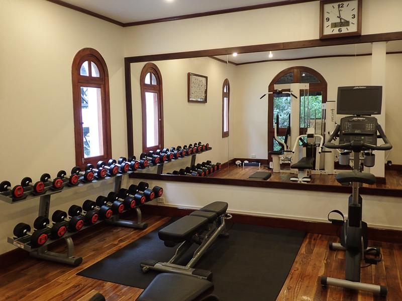 Belmond La Residence Phu Vao Fitness Room