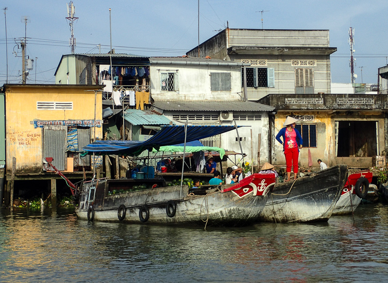 Things to do in Vietnam: Mekong Delta Floating Market