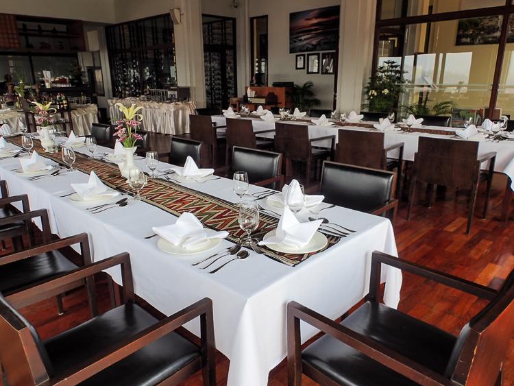 Luang Prabang View Hotel Dinner Somview Restaurant