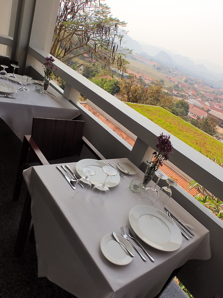 Luang Prabang View Hotel Dinner View