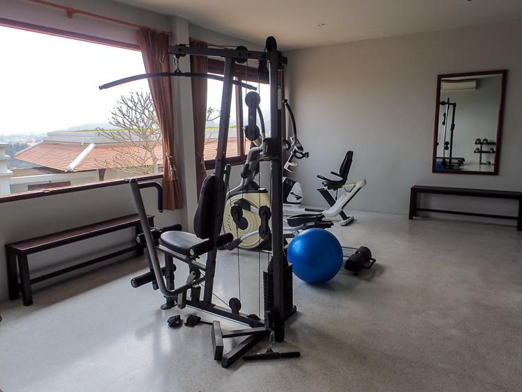 Luang Prabang View Hotel Gym