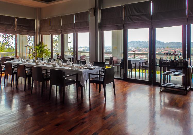 Luang Prabang View Hotel Somview Restaurant View