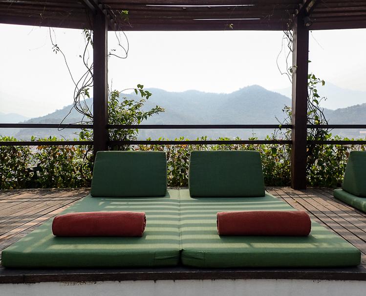 Luang Prabang View Hotel Sun Loungers