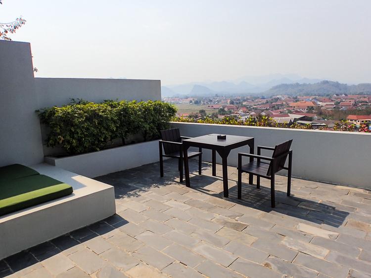 Luang Prabang View Hotel Terrace