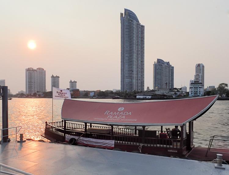Ramada Boat on the Chao Phraya River