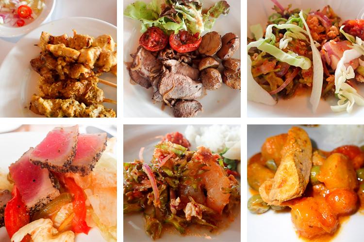 Majestic Grande Hotel Bangkok Food Selection
