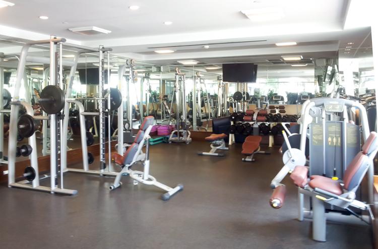 Majestic Grande Hotel Bangkok Gym
