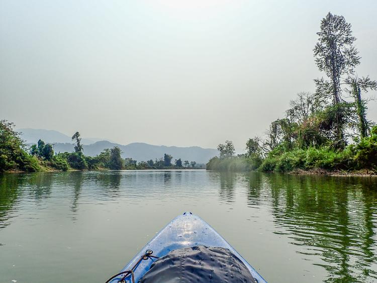 Nam Song River Vang Vieng