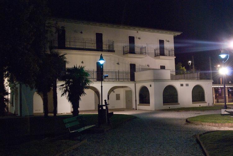 Mussolini's summer home in Riccione