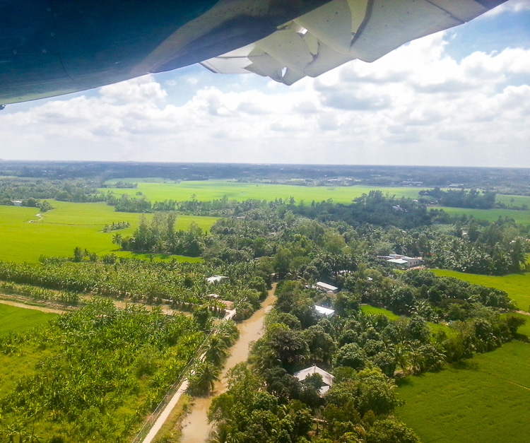 Mekong Delta Tour from the Air
