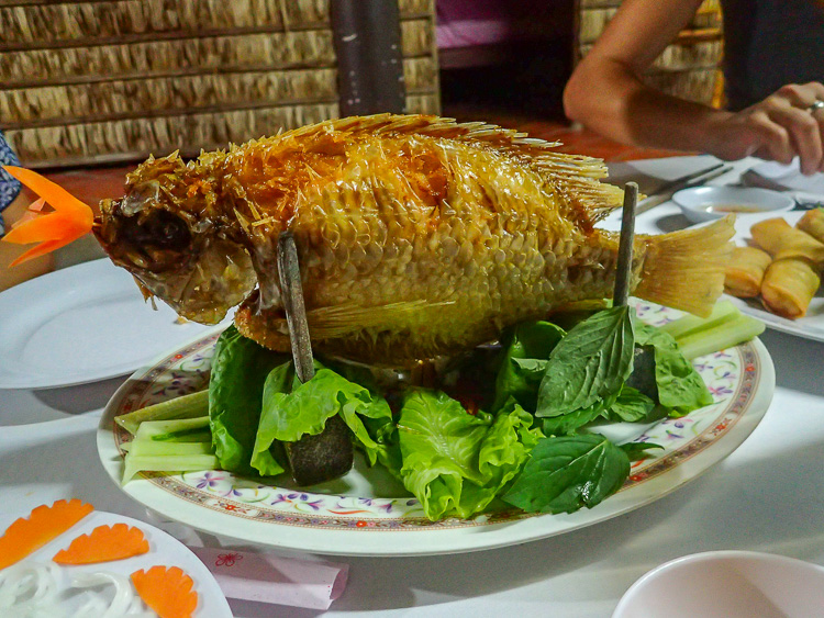 Mekong Catfish Dinner