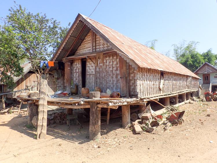 Long house in Jun village, Lak Lake