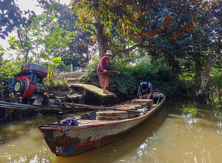 Sehenswürdigkeiten auf der Mekong Delta Bootstour