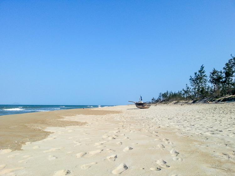 An Bang Beach near Hoi An