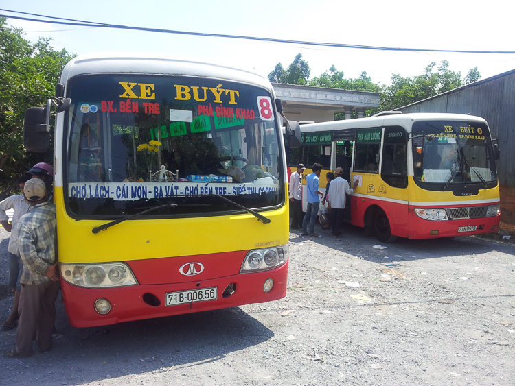 Bus Vinh Long to Ben Tre