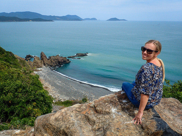 Enjoying Cam Ranh Bay's Views over some of the most beautiful beaches in Vietnam
