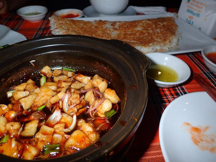 Crispy Rice with Fish Sauce